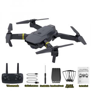 Drona micro pliabila, camera 720p, wi-fi, 2.4 gHz, neagra2