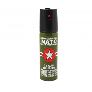 Spray paralizant NATO, propulsie jet, 90 ml2
