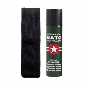 Spray paralizant NATO, propulsie jet, 90 ml0