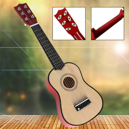 Chitara pentru copii, clasica, lemn, Junior, 54 cm [4]
