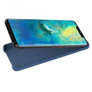 Husa pentru Huawei Mate20 Pro, Blue Slim, Liquid Silicone5
