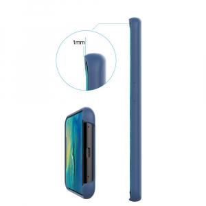 Husa pentru Huawei Mate20 Pro, Blue Slim, Liquid Silicone3