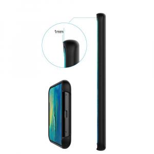 Husa pentru Huawei Mate20 Pro, Black Slim, Liquid Silicone2