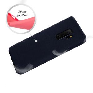 Husa pentru Samsung Galaxy S9 Plus, Blue Slim, Liquid Silicone2