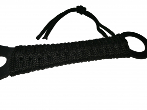 Sabie de vanatoare, Black Ronin, maner textil, 68.5 cm, cutit de aruncat inclus [3]