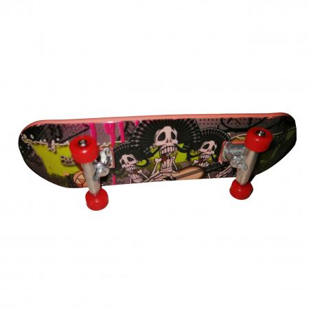 Mini Skateboard, Fingerboard Extreme, 9.5 cm, negru [1]