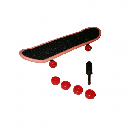 Mini Skateboard, Fingerboard Extreme, 9.5 cm, negru [3]