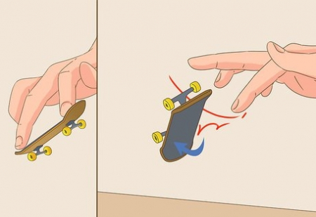 Mini Skateboard, Fingerboard Extreme, 9.5 cm, negru [7]
