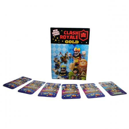 Set 200 de cartonase Clash Royale, cartonate, multicolor seria 6 [3]