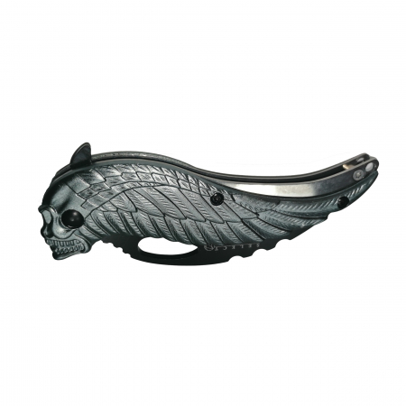 Briceag de buzunar, Wind Ghost otel, argintiu, 17.5 cm [3]