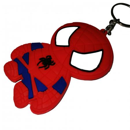 Breloc Spiderman pentru copii, cauciuc, rosu, 22 cm [1]