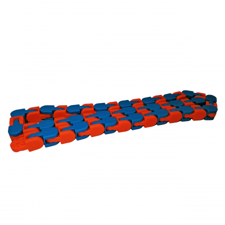 Jucarie antistres, Sensorial Snake, multicolor, 54 cm [3]
