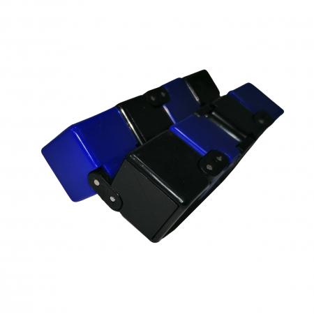 Jucarie antistres, cubul infinitului, 4 cm, plastic, negru-albastru [1]