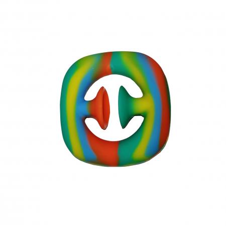 Jucarie antistres senzoriala, cauciuc, 6 cm, multicolor [0]