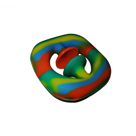Jucarie antistres senzoriala, cauciuc, 6 cm, multicolor [2]
