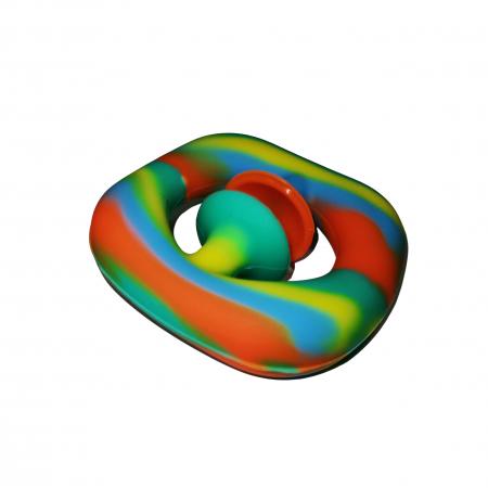 Jucarie antistres senzoriala, cauciuc, 6 cm, multicolor [3]