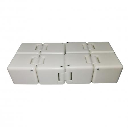 Jucarie antistres, cubul infinitului, 4 cm, plastic [2]