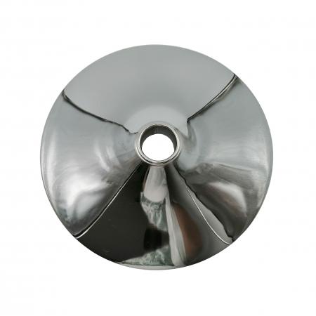 Baza metalica pentru scaun bar, 38 cm, argintie [1]