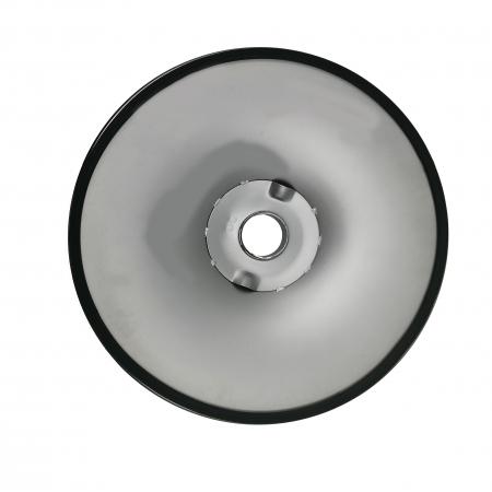 Baza metalica pentru scaun bar, 38 cm, argintie [2]