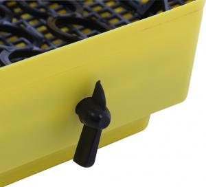 Incubator electric pentru oua cu dispozitiv intoarcere si termometru, Cleo, model 5DT5