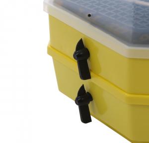 Incubator electric pentru oua cu dispozitiv dublu de intoarceresi termometru, Cleo, model 5X2-DT4
