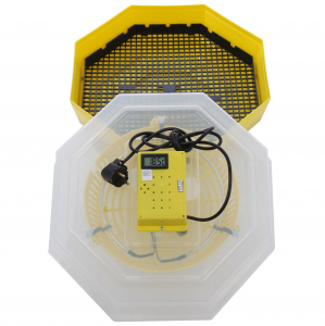 Incubator electric pentru oua cu termometru, Cleo, model 5T2