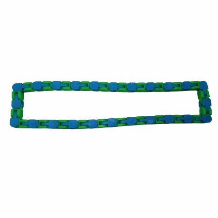 Jucarie antistres, Sensorial Snake, multicolor, 54 cm [5]