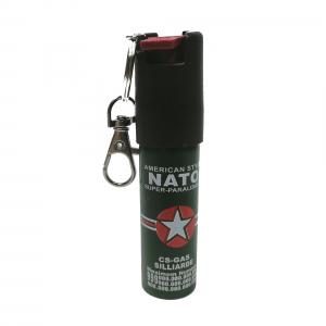 Mini-Spray paralizant NATO, tip breloc, propulsie jet, 20 ml0