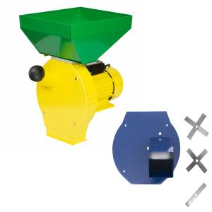 Moara Electrica ProCraft, 3.5 kW, 3000 rpm, 3 site interschimbabile, dispozitiv pentru maruntirea tulpinilor cadou0