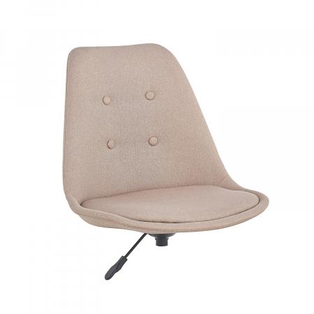 Ansamblu scaun de birou Kring Havana, material textil, bej [0]