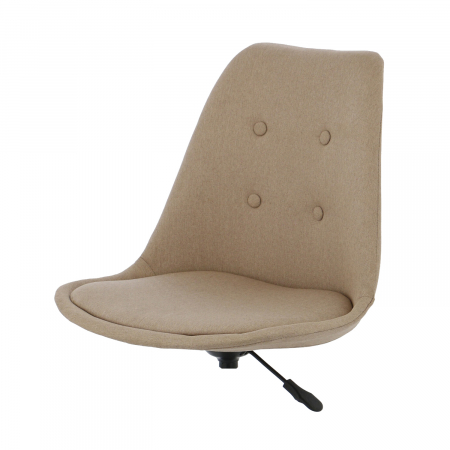 Ansamblu scaun de birou Kring Havana, material textil, bej [3]