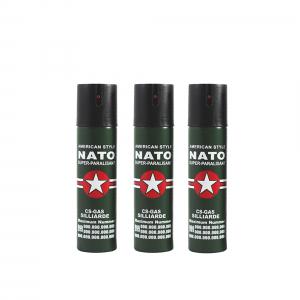 Set 3 sprayuri paralizante, NATO, 60 ml
