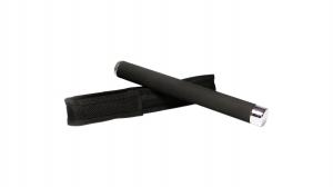 Set baston telescopic 65 cm argintiu + box negru 1 cm grosime2