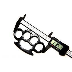 Set baston telescopic din otel, negru, 64 cm + box negru 0.5 cm grosime6