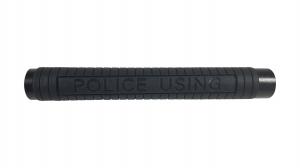 Set baston telescopic Police, 49 cm + box argintiu 1 cm grosime [3]