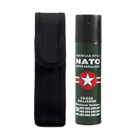 Set cutit traditional japonez si 2 sprayuri paralizante, NATO, 60 ml [4]