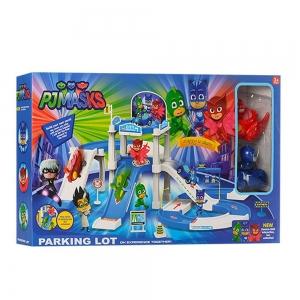 Set eroi in pijamale circuit cu garaj - 710A0