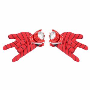 Set manusi Spiderman cu lansator cu discuri0