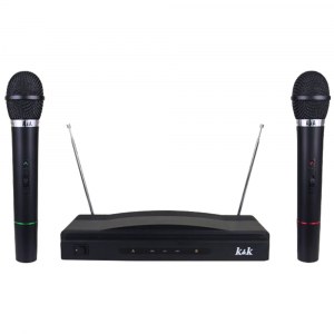 Set microfoane wireless + reciever AT-3061
