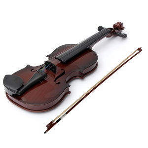 Vioara clasica din lemn 1/4, 48 cm0