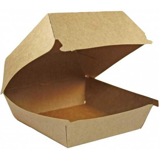 Cutii burger carton kraft natur 0