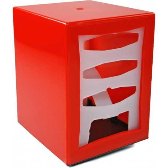 Dispenser servetele, 85x120 mm, plastic rosu [0]