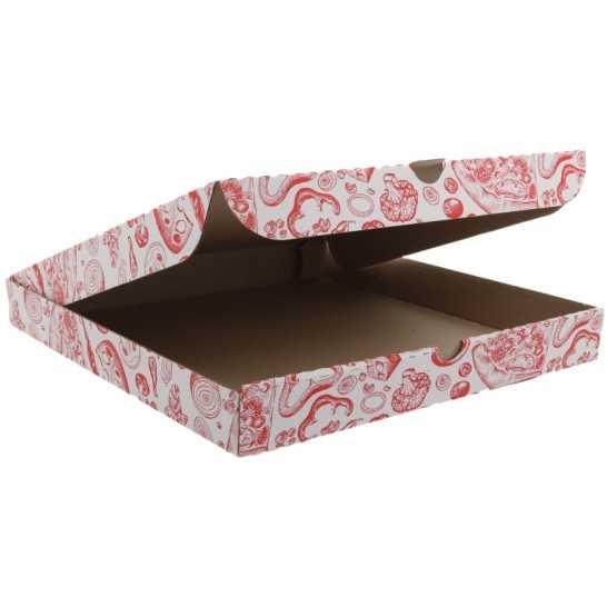 Cutii PIZZA dreptunghiulare KRAFT [0]