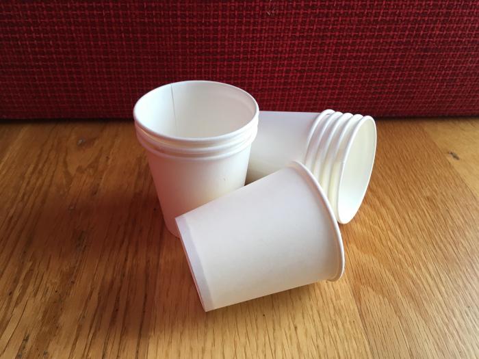 Pahar carton alb 4Oz [0]