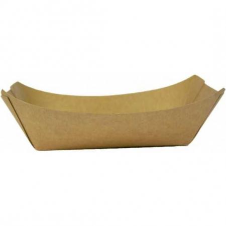Cutii carton kraft natur tip barcuta, 160 x 120 x 40 mm, 300 ml, 250 buc/set, 4 set/cutie, 1000 buc/bax0
