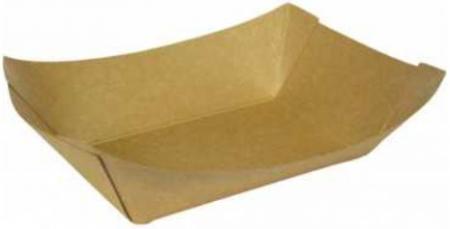 Cutii carton kraft natur tip barcuta, 160 x 120 x 40 mm, 300 ml, 250 buc/set, 4 set/cutie, 1000 buc/bax1