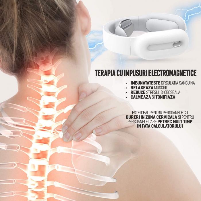 Aparat masaj cervical, portabil, USB [4]