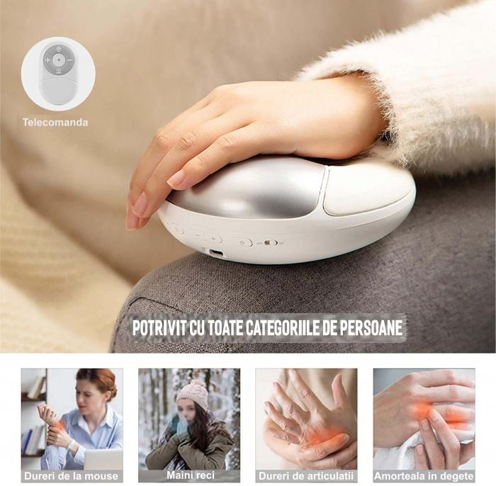 Aparat masaj pentru maini, portabil, USB [3]