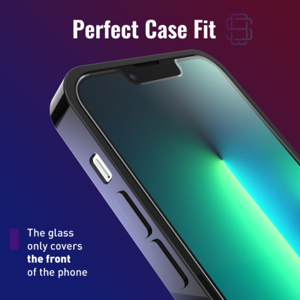 Folie sticla iPhone 13 Pro, set 2 buc, DefenSlim, instalare usoara cu dispozitiv de potrivire automata, Easy Install Kit patentat [4]