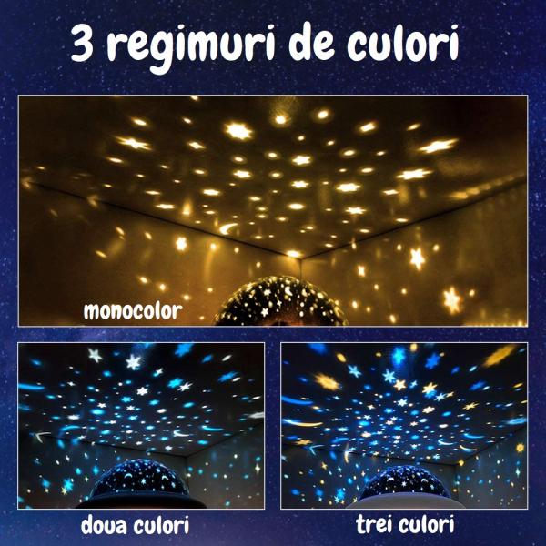 Lampa de veghe OZN, alb [4]